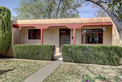 Albuquerque Single Family Home For Sale: 817 Dakota Street SE