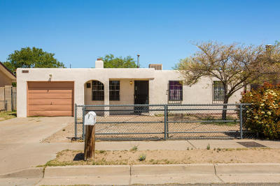 Albuquerque Single Family Home For Sale: 7509 Lucca Lane SW