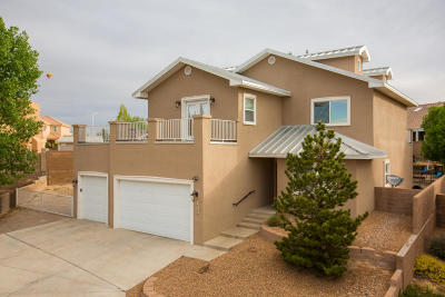 Albuquerque Single Family Home For Sale: 4505 Baxter Court NW