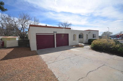 Albuquerque NM Single Family Home For Sale: $189,900