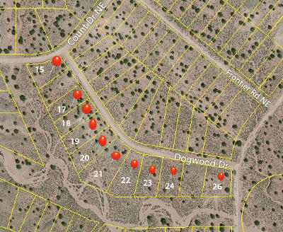 Rio Rancho Residential Lots & Land For Sale: 4827 Dogwood Drive NE