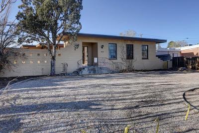 Albuquerque Single Family Home For Sale: 1708 Sigma Chi Road NE