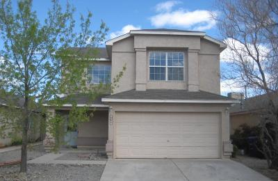 Albuquerque Single Family Home For Sale: 8209 Vista Estrella Lane SW
