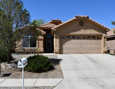 Albuquerque, Rio Rancho Single Family Home For Sale: 4405 Snow Heights Circle SE