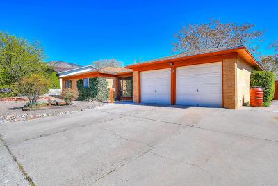 Albuquerque Single Family Home For Sale: 11600 Golden Gate Avenue NE