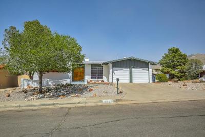 Albuquerque Single Family Home For Sale: 12025 Elvin Place NE