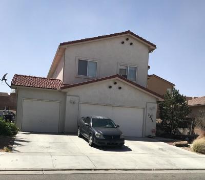 Albuquerque Single Family Home For Sale: 3311 Rio Seco Drive SW