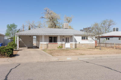 Albuquerque Single Family Home For Sale: 9218 Fairbanks Road NE