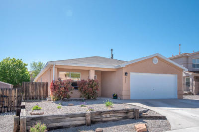 Albuquerque Single Family Home For Sale: 8307 Rancho Lucido NW