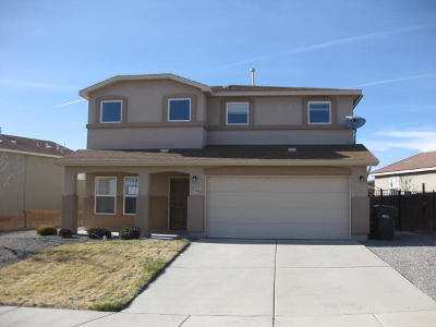 Rio Rancho NM Single Family Home For Sale: $212,000