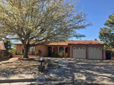Albuquerque Single Family Home For Sale: 3801 Monaco Drive NE