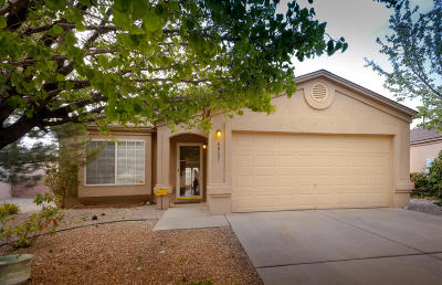 Albuquerque Single Family Home For Sale: 6827 Sirocco Place NW