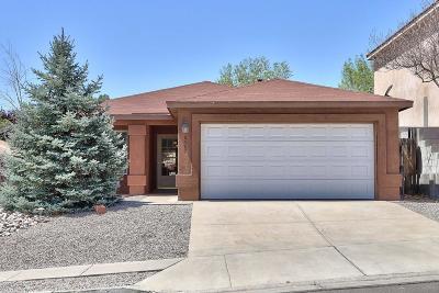 Albuquerque Single Family Home For Sale: 10567 Vista Bella Place NW