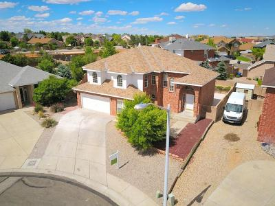 Albuquerque Single Family Home For Sale: 8444 Bella Vista Place NW