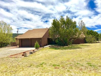 Tijeras, Cedar Crest, Sandia Park, Edgewood, Moriarty, Stanley Single Family Home For Sale: 18 Juniper Hill Loop
