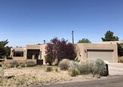 Albuquerque Single Family Home For Sale: 727 Cedar Hill Lane NE # 1