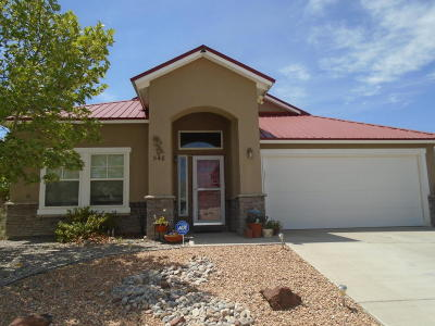 Rio Rancho Single Family Home For Sale: 548 Minturn Court NE
