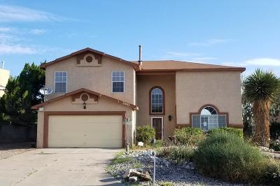 Rio Rancho Single Family Home For Sale: 2881 Seven Falls Drive SE