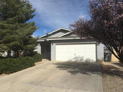 Rio Rancho Single Family Home For Sale: 3036 Taos Meadows Drive NE