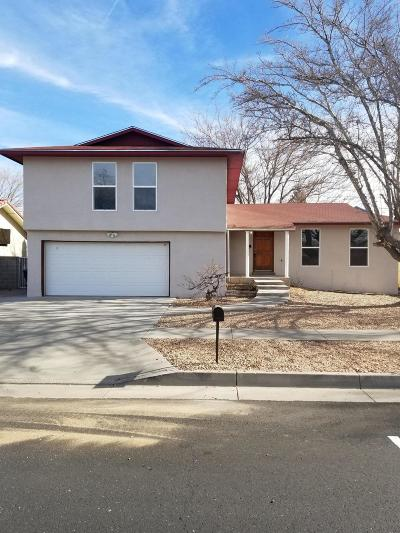Albuquerque Single Family Home For Sale: 5700 Valle Vista Drive NW