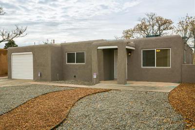 Albuquerque Single Family Home For Sale: 8004 Fruit Avenue NE