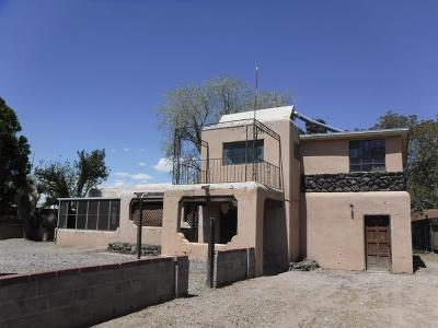 Albuquerque NM Single Family Home For Sale: $107,900
