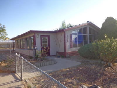 Albuquerque Manufactured Home For Sale: 6516 Kelly Avenue NE
