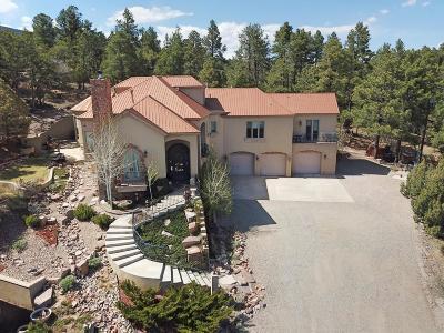 Tijeras, Cedar Crest, Sandia Park, Edgewood, Moriarty, Stanley Single Family Home For Sale: 14 Vista Entcantada