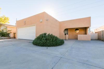 Albuquerque Single Family Home For Sale: 515 Madeira Drive NE