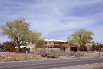 Corrales Single Family Home For Sale: 1180 La Entrada