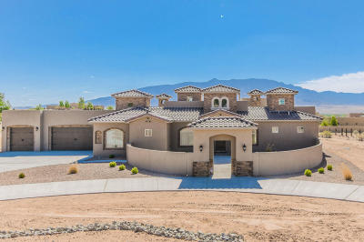 Corrales Single Family Home For Sale: 59 Don Julio Road