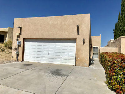 Albuquerque Single Family Home For Sale: 1618 Cliffside Drive NW