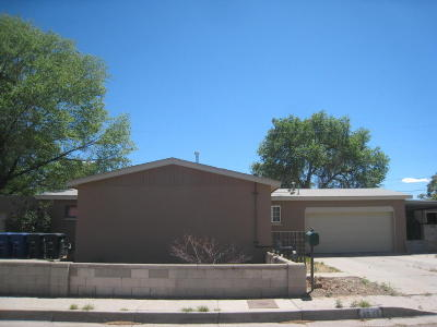 Albuquerque Single Family Home For Sale: 3536 Ute Northwest Road NW