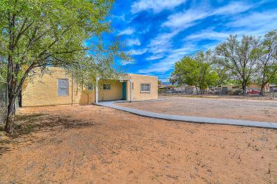 Albuquerque Single Family Home For Sale: 1901 Eucariz Avenue SW