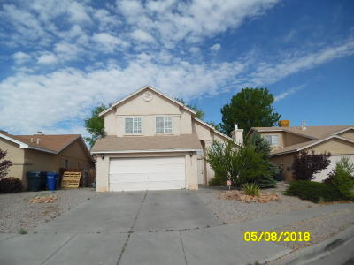Albuquerque Single Family Home For Sale: 1415 Duskfire Drive NW