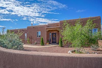Placitas Single Family Home For Sale: 2 Llano Sendero
