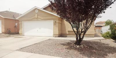Albuquerque Single Family Home For Sale: 9735 El Patron Road SW