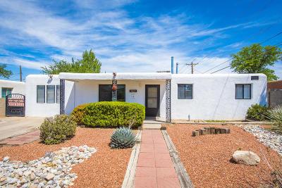 Albuquerque Single Family Home For Sale: 5217 Cherokee Road NE