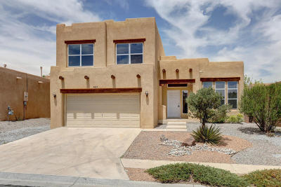Albuquerque Single Family Home For Sale: 7423 Silverthorne Road NW