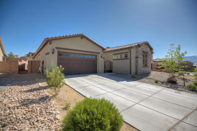 Rio Rancho Single Family Home For Sale: 4222 Pico Norte Lane NE
