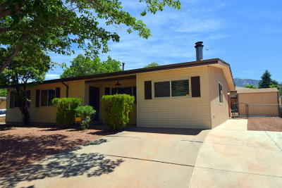 Albuquerque Single Family Home For Sale: 1918 Saturn Court NE