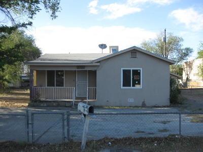 Albuquerque NM Single Family Home For Sale: $75,000