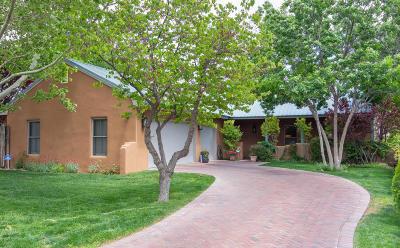 Albuquerque Single Family Home For Sale: 2616 Harvest Lane NW