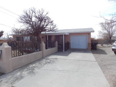 Albuquerque Single Family Home For Sale: 244 57th Street NW