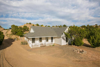 Placitas Single Family Home For Sale: 61 Loma Chata Road