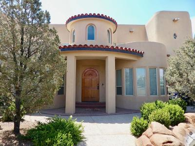Albuquerque NM Single Family Home For Sale: $600,000