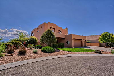 Albuquerque Single Family Home For Sale: 3924 Pinon Jay Court NW