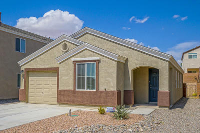 Albuquerque Single Family Home For Sale: 2843 Baco Noir Drive SW