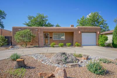 Albuquerque Single Family Home For Sale: 4612 Robin Avenue NE