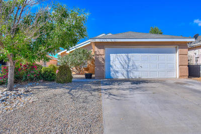Albuquerque Single Family Home For Sale: 7904 Blue Avena Avenue SW